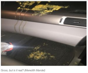 Uber Charges Customer $200 for Fake Vomit in Car