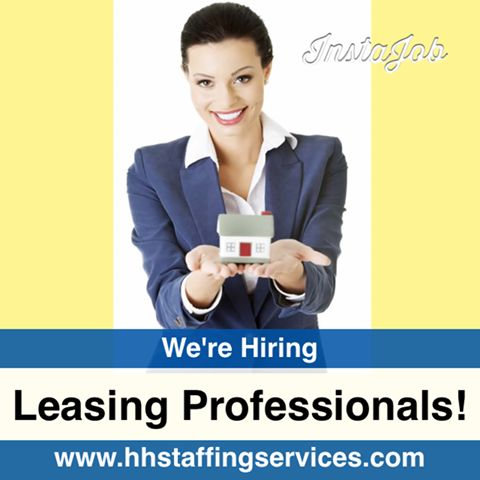 Now #hiring #Leasing Professionals in #Tampa! The Leasing Professional is responsible for assisting the Property Manager and Assistant Property Manager in maintaining all aspects of property operations, but with a concentration on the leasing, outreach #marketing, and resident retention for the property. The Leasing Professional strives for 100% occupancy through retention of existing residents, leasing current availability and pre-leasing of future availability. Please send your resume to danie