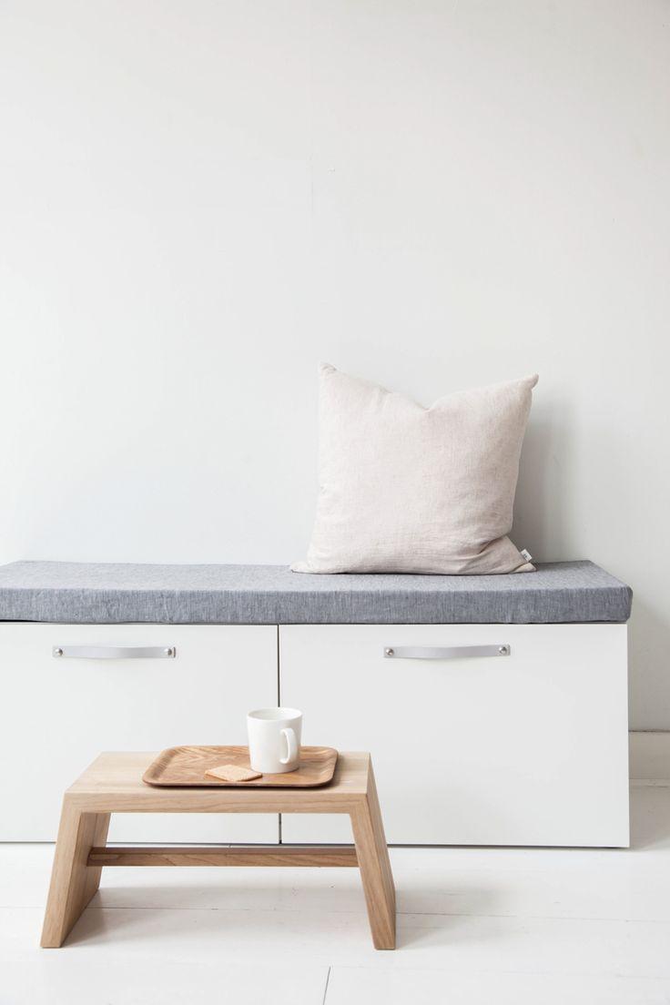 Design Studio Nu - leather handle - grip - size 3 - grey