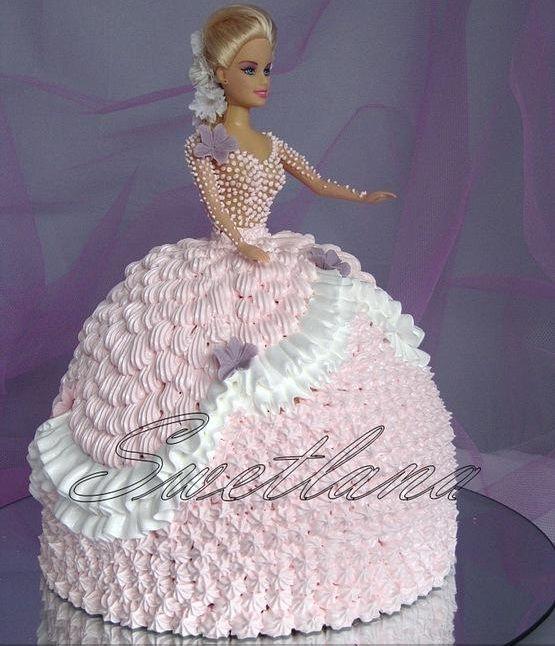 Cake Design Barbie Doll : 180 best images about barbie(doll)cake on Pinterest ...