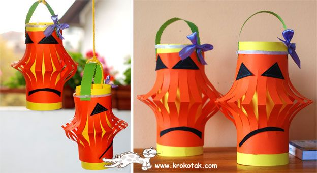 Halloween Paper lanterns per J's request