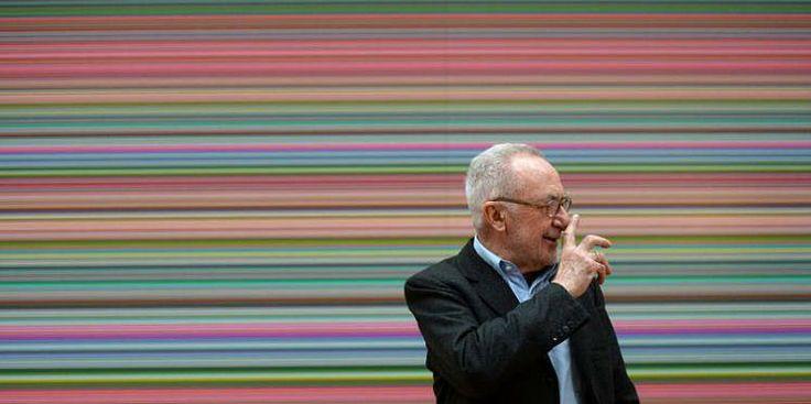 """Das """"Manager Magazin"""" hat seine jährliche Liste der einflussreichsten Künstler der Welt veröffentlicht. Der deutsche Maler Gerhard Richter wird zum fünften Mal in Folge als wichtigster Künstler der Gegenwart geführt. (Bild: dpa)"""