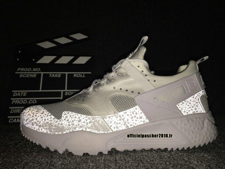 innovative design 8ab38 5dab3 ... officiel nike air huarache 4 décoloration réfléchissante chaussures  nike 2016 pas cher pour homme ...