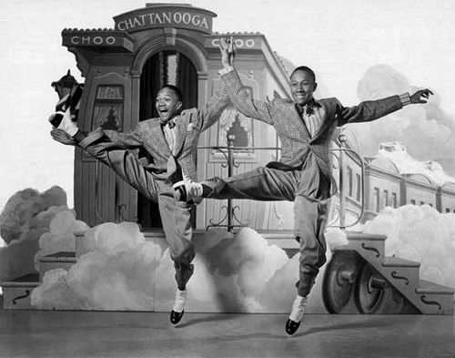 Nicholas Brothers | Black Hollywood Series by Black History Album, via Flickr