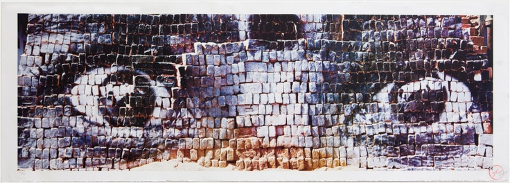 JR - 28 Millimètres, Women are Heroes - Eyes on bricks, New-Delhi, India for Sale | Artspace