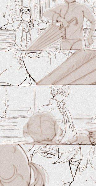 Gintama [★][★][★] Okita Sougo, Kagura, and Sakata Gintoki