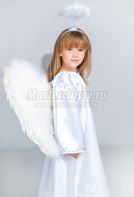 Костюм ангела для девочки своими руками фото фото 597