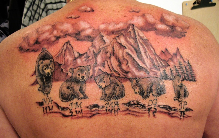 17 best images about amy tattoo 39 s on pinterest teddy for Bear cub tattoo