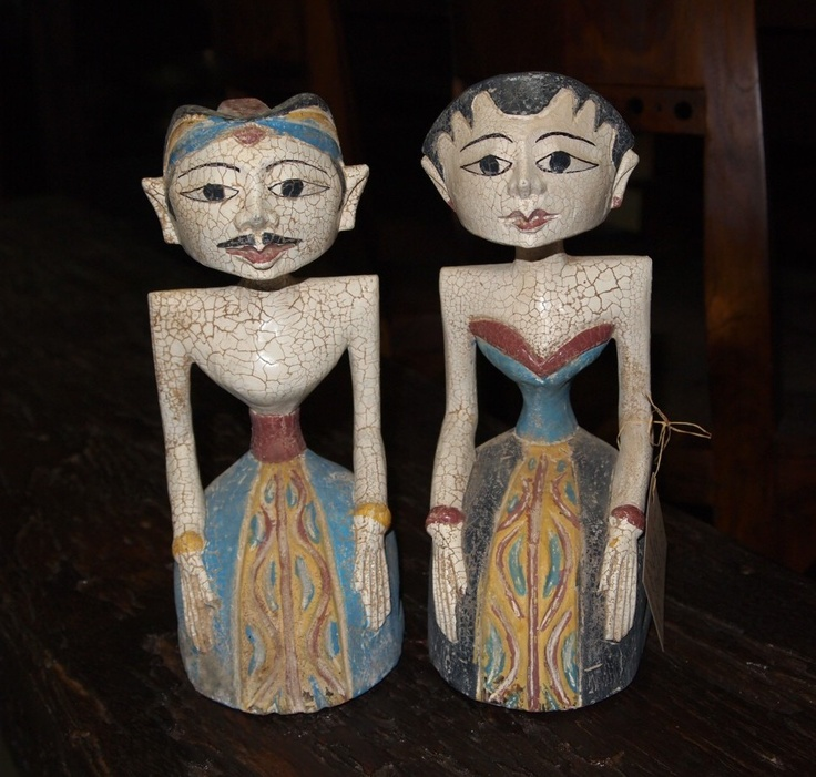 Loro Blonyo Indonesian Wedding Figures