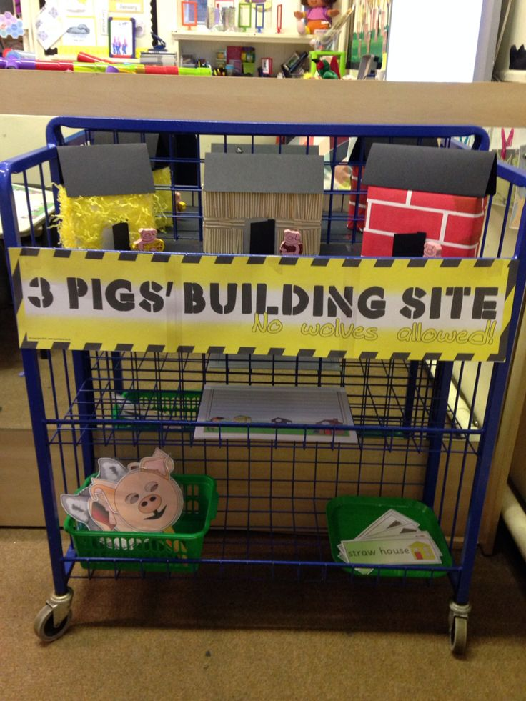 My Three Little Pigs role play trolley