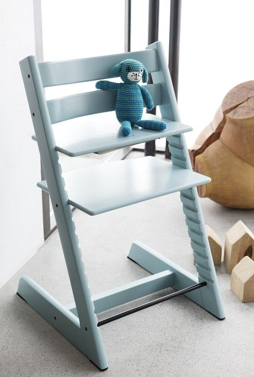 One of the most popular Stokke Tripp Trapp Chair colors.... Aqua Blue
