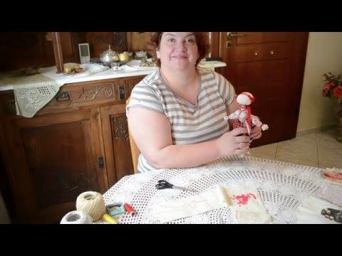 Кукла-мотанка мастер-класс. Часть 7. Бусы - Ukrainian traditional handmade doll Motanka - YouTube