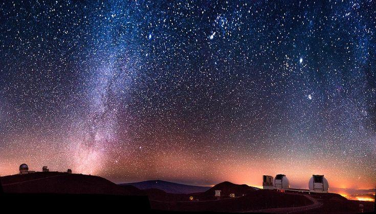 Star-Gazing on Mauna Kea, Hawaii