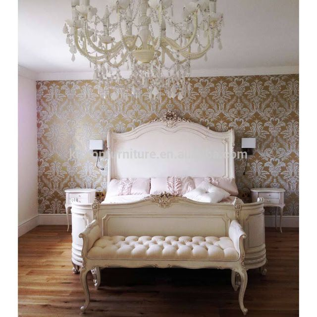 Decoracion dormitorios 50 dormitorios de estilo franc s for Platre decoracion frances