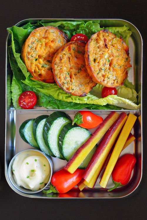 Paleo Lunchboxes 2014 (Part 2 of 7) (Spicy Tuna or Salmon cakes) by Michelle Tam http://nomnompaleo.com