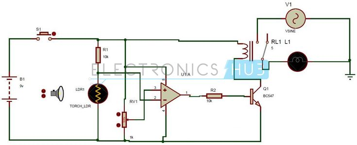 how to make ldr circuit