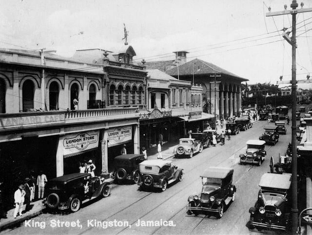 King Street Jamaica Wi Kingston Jamaica Jamaica Jamaican Culture