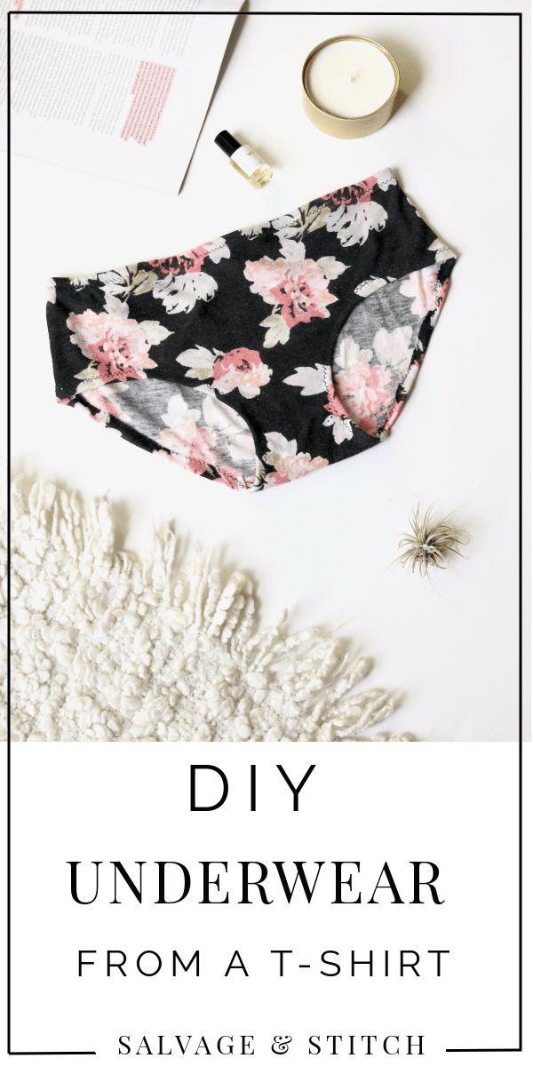 DIY Underwear From a T-Shirt – Kiki Anema