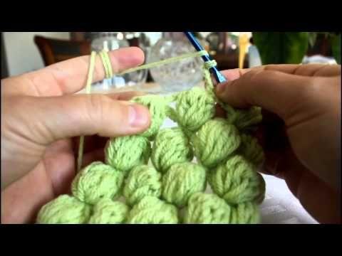 How to Crochet Grape, Walnut Stitch Tutorial (2)