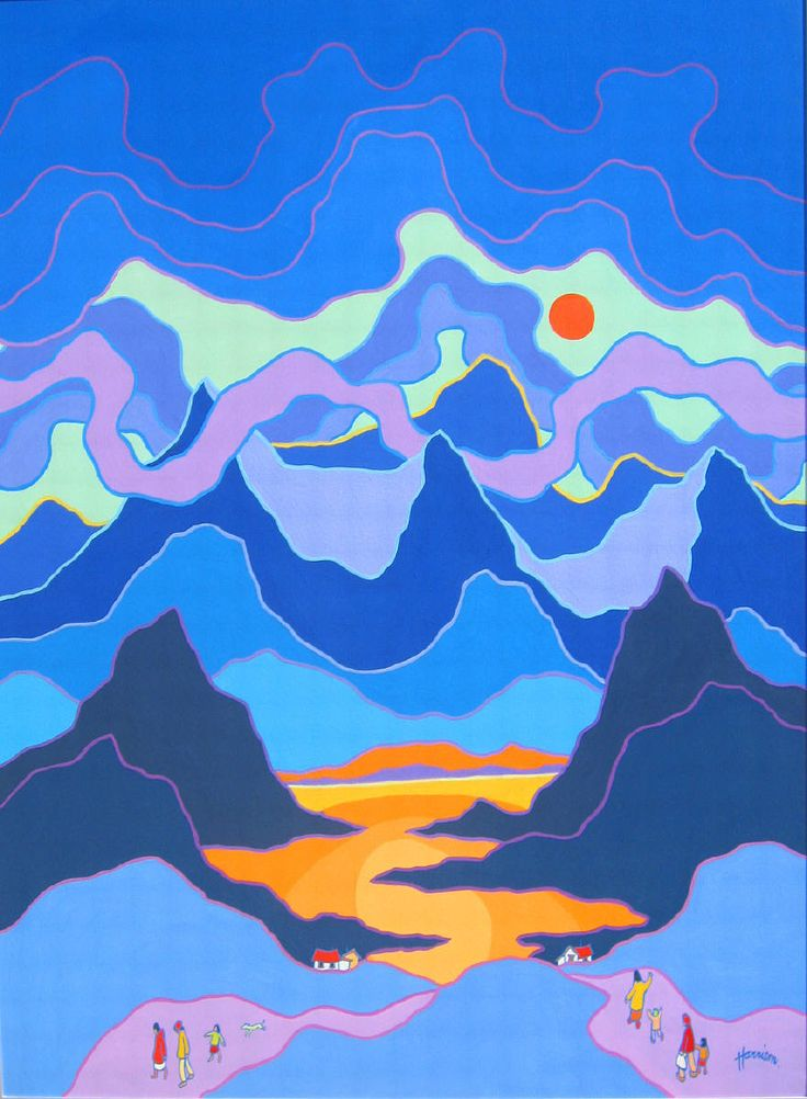 Family Saturday - Ted Harrison Northern Landscapes - Vernon Public ...