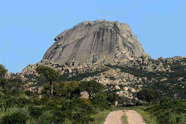 Monte Pulchiana , Tempio