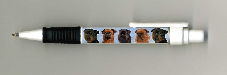 Brussels Griffon Dog Design Retractable Acrylic Ball Pen by paws2print  | eBay