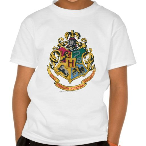 Hogwarts Four Houses Crest