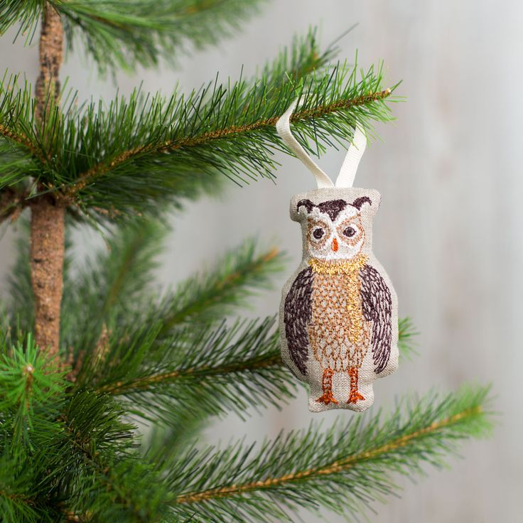 owl tree trimmer ornament