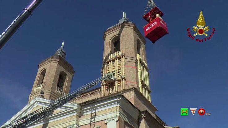 Vigili del Fuoco - Camerino - Termine lavori torre destra del Duomo - ww...