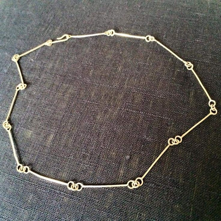 halsband necklace silver