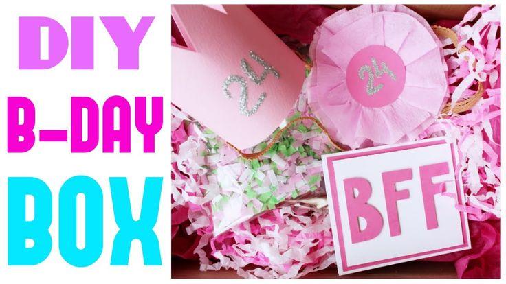 B-DAY BOX * ДЕНЬ РОЖДЕНИЯ в КОРОБКЕ!!  * Подарок для лучшей подруги * Bubenitta
