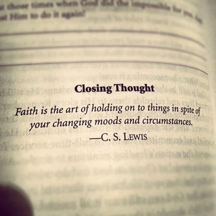 Knocked down 7 times? Get up 8. Faith will do that for you.