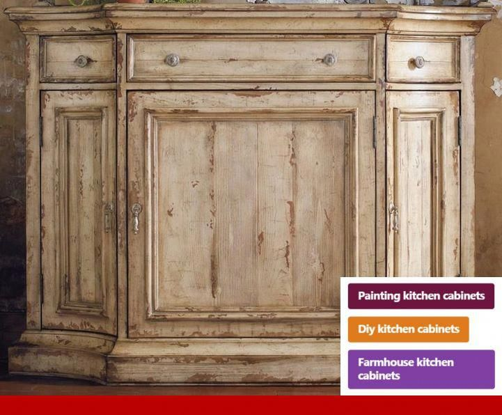 Wood Kitchen Cabinets Look Glossy