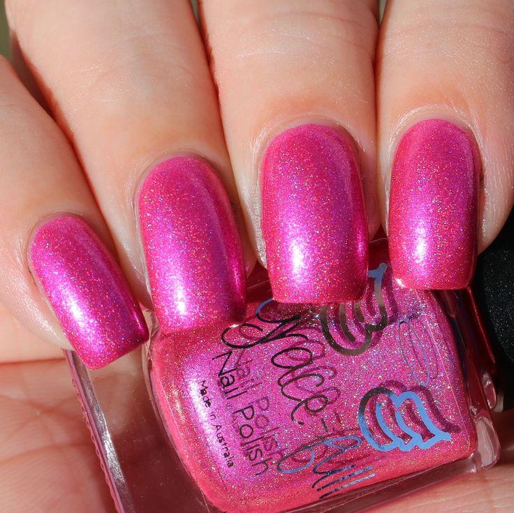 Grace-full Nail Polish Get A Hooker swatched by Olivia Jade Nails