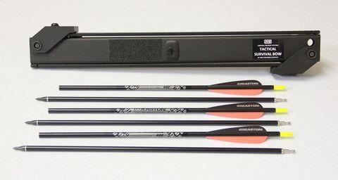 SAS Take-down Arrow - 31 inch 400 Spine – Survival Archery Systems