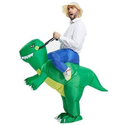 Inflatable Dinosaur T-REX Costume Costumes For Adults -  BE THE WINNER OF EVERY COSTUME CONTEST: Get ready for this year's Halloween with these truly unique and hilarious inflatable costumes. Choose one of the 9 original designs and win every costume contest! Dress up as a big ballerina a dragon ostrich gori - Check it out here: https://geekify.me/product/Inflatable-Dinosaur-T-REX-Costume-Costumes-For-Adults #geekifyme