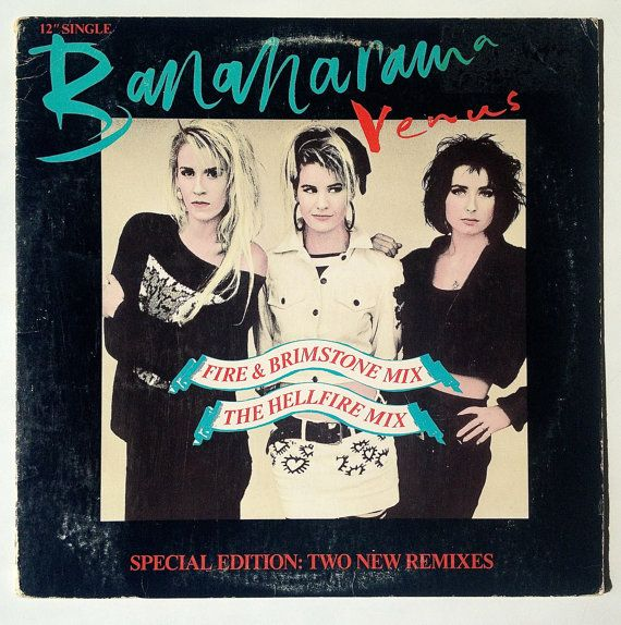 Bananarama - Venus (Special Edition) LP Vinyl Record 12' Single, London Records - 886 088-1, Electronic, Synth-pop, 1984, Original Pressing