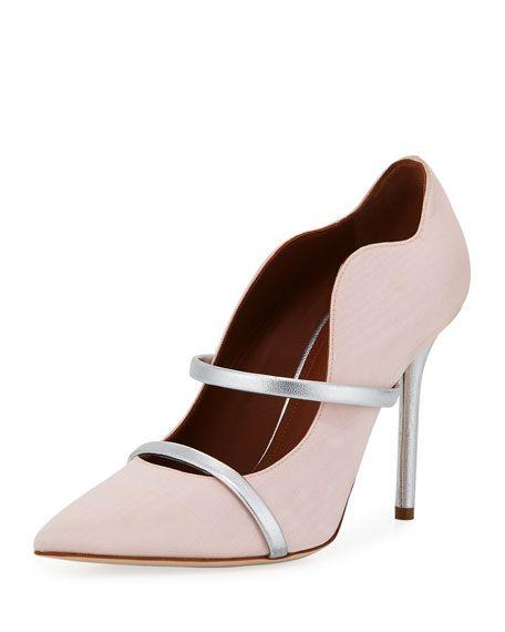 05fbd5979 Maureen Grosgrain Two-Strap Pump Malone Souliers, Evening Shoes, Pumps,  Heels,