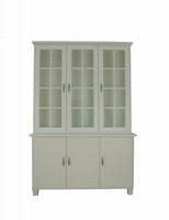 Länna Möbler - Hampton Vit 612D/622D Vitrin med skänk från Englesson - Länna Möbler - Handla online