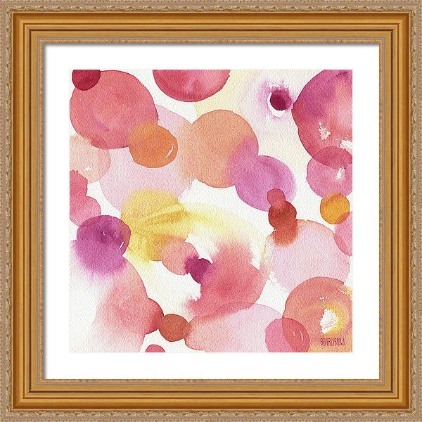 Pink Orange Yellow Abstract Watercolor Painting by Beverly Brown - Canvas Abstract wall art and framed  sc 1 st  Pinterest & The 14 best Colorful Abstract | Wall Art images on Pinterest ...