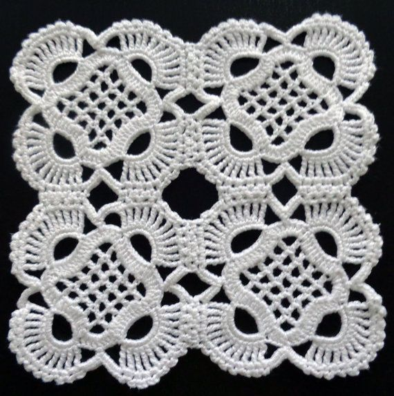 Handmade Crochet Square Doily Crazy Quilt Blogs Web