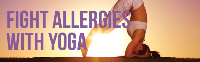Yoga can strengthen your immune system and reduce allergy symptoms! | www.memd.me