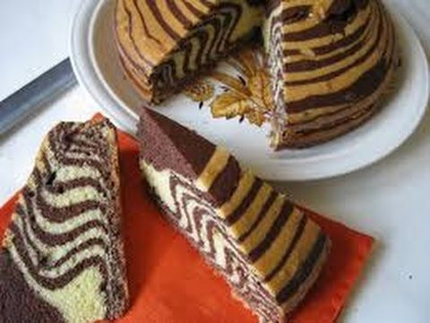 TORTA ALL' ACQUA ZEBRATA! - YouTube