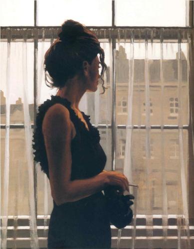 Yesterday's Dreams, by Jack Vettriano (Scottish, b. 1951)