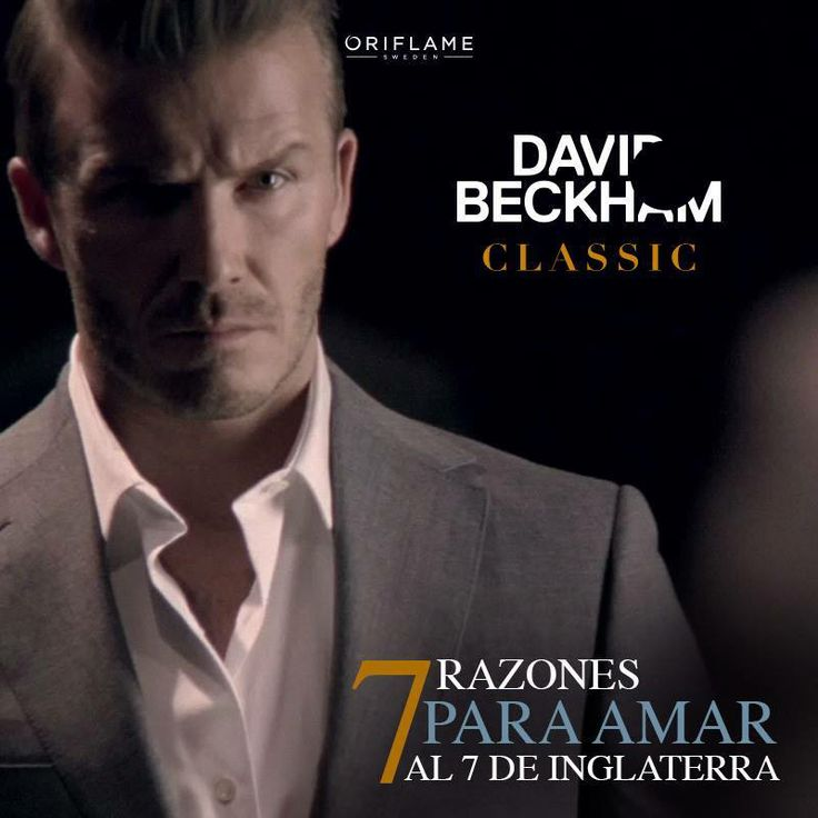 David Beckham en exlusiva para Oriflame! http://www.bellezaalnatural101.com/moda/en-exclusiva-david-beckham