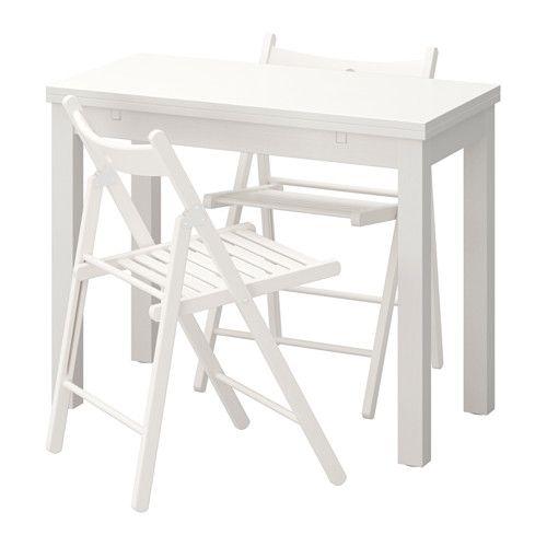 bjursta terje mesa y dos sillas ikea
