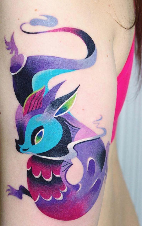 Chinese Zodiac dragon tattoos