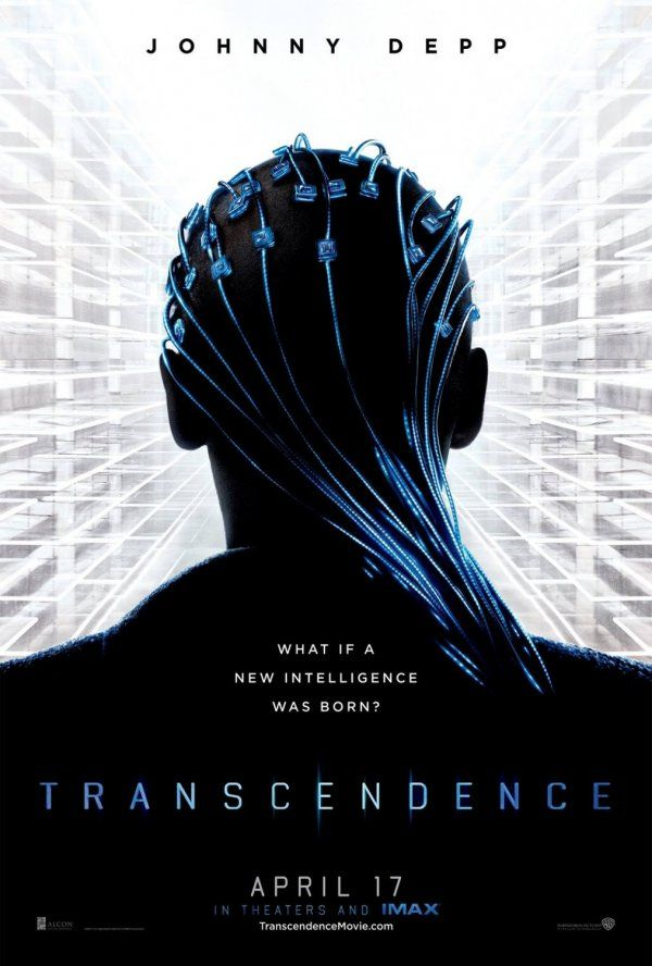 Transcendence (April 2014) sci-fi stars Johnny Depp, (Will), Paul Betany (Max), Rebecca Hall (Evelyn), Kata Mara (Bree), Morgan Feeman and Cory Hardrict. This movie is directed by Wally Pfister (known for cinematography in movie - Dark Knight) The movie surrounds Dr. Will Caster (Johnny Depp) a researcher in the field of Artificial Intelligence, his work has made him famous, as well as a prime target of anti-technology extremists who will do whatever it takes to stop him.  Poster - #160852