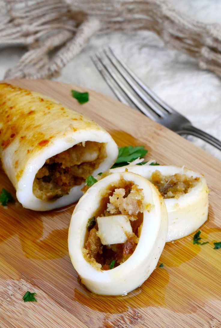 about Stuffed Squid Recipe on Pinterest | Squid Recipes, Calamari ...