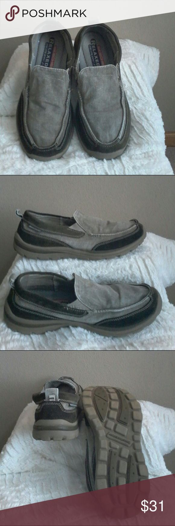 Skechers Men's shoes Relaxed Fit Memory Foam Sketchers Shoes